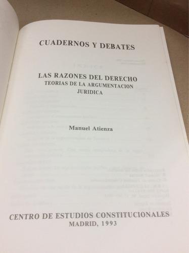 las razones del derecho,teorías de la argumentaciónargumenta