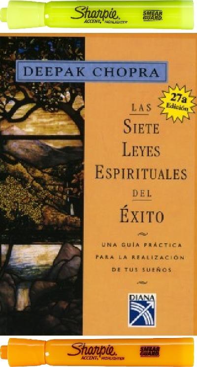 Las Siete Leyes Espirituales Del Xito Deepak Chopra 44900 En
