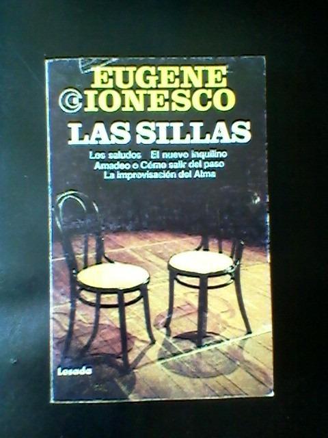 las sillas de eugene ionesco