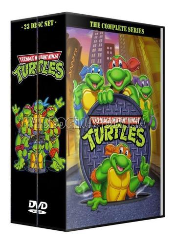 las tortugas ninja colección 10 temporadas dvd pack latino