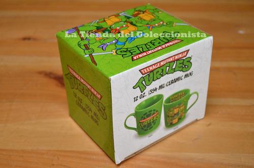las tortugas ninja mug taza ceramica importada marca vandor