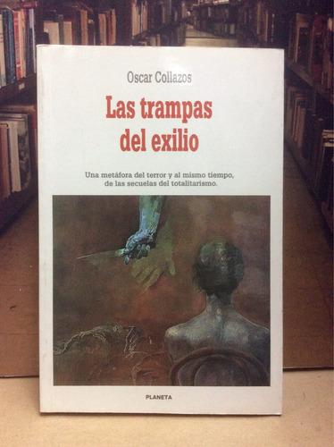 las trampas del exilio. oscar collazos. novela