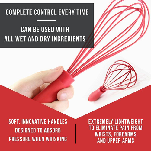 las últimas 2-pc balloon whisk set - multifun + envio gratis