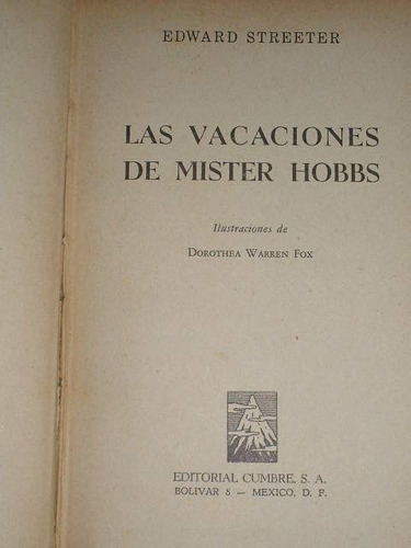 las vacaciones de mister hoobs
