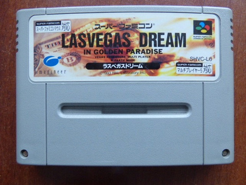 las vegas dream super famicom zonagamz japon