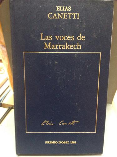 las voces de marrakech - elias canetti
