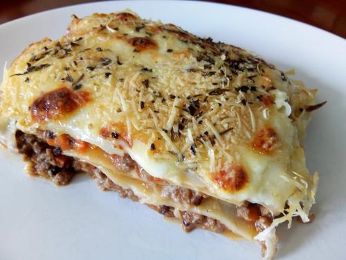 lasagnas y canelones