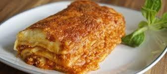 lasaña carne, lasaña pollo, lasaña quesos, lasaña mixta.