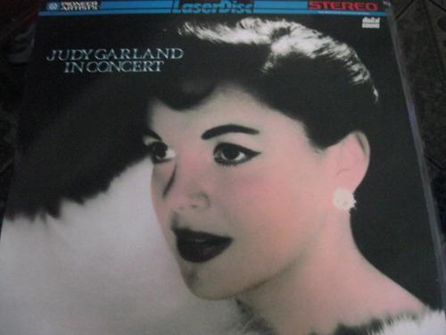 lase disc  =  jud garland in concert