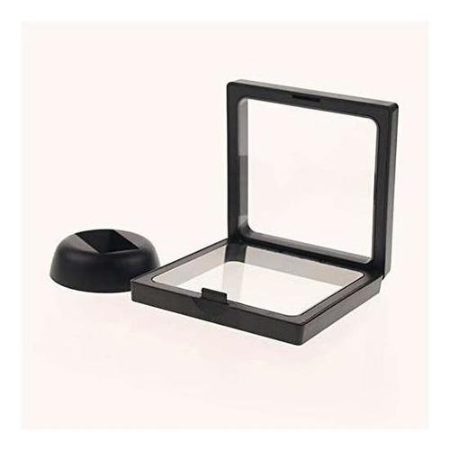lasenersm 4 piezas moneda 3d display stand box set diamond s