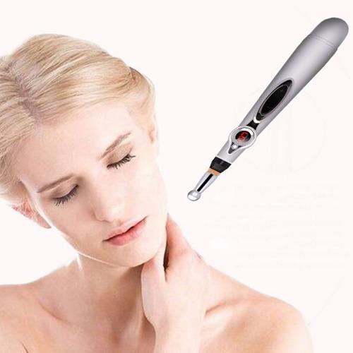 láser acupuntura pluma masajeador de acupuntura electrónica