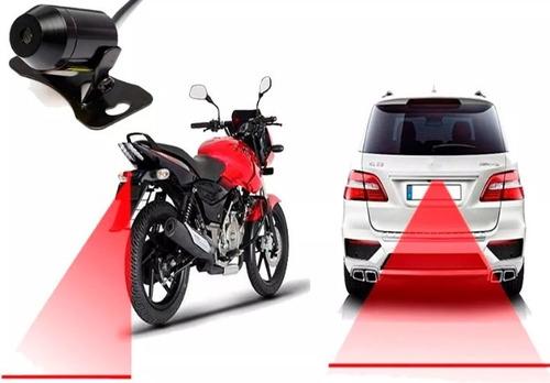 láser anti -colisión trasera para  motos luz de niebla