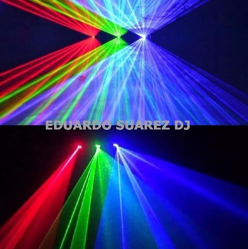 laser audio luces