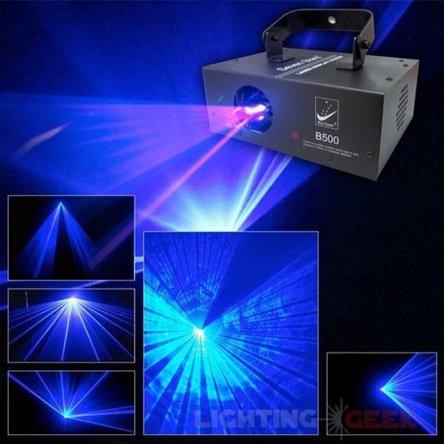 láser azul b500 para discoteca
