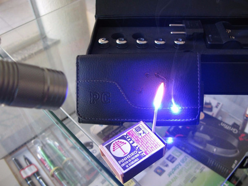 laser azul torch 30.000mw pointer super forte com maleta
