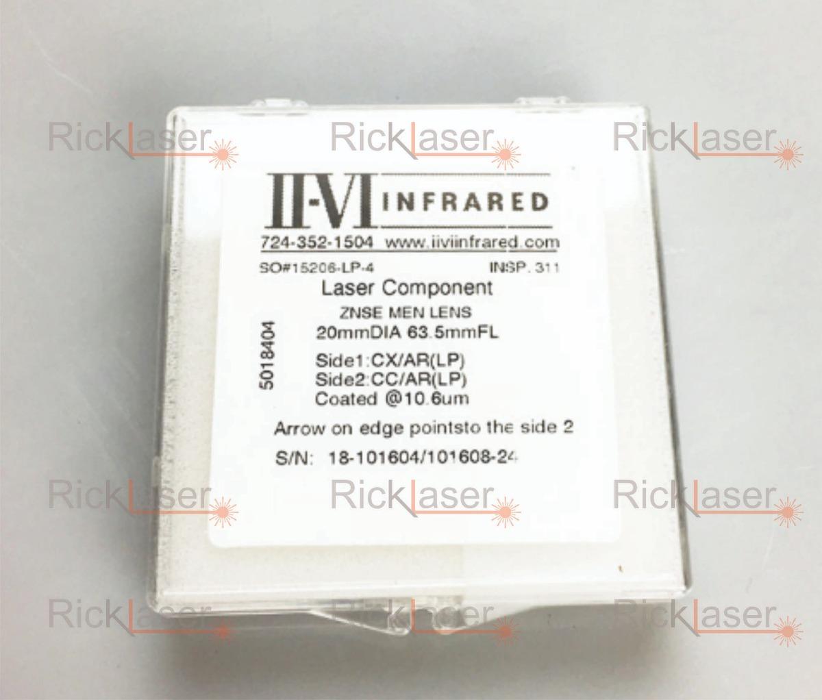 fd201b8b6b Laser Co2 Lente Focal Menisco I I- V I 20mm Diax63.5mm Df - R$ 400 ...