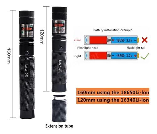 laser de alta potencia, astronomico y de emergencia.