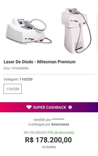 laser de diodo - milesman premium