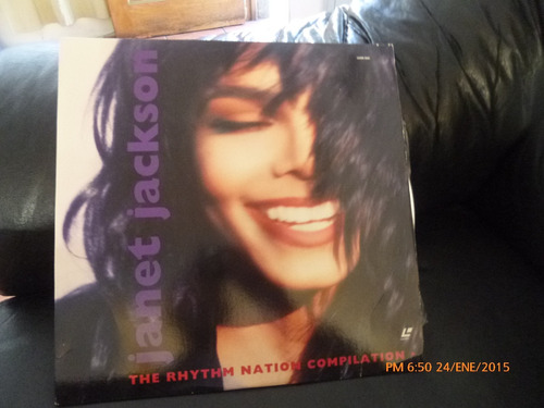 laser disc janet jackson  -the rhythm nation  u.s.a (13