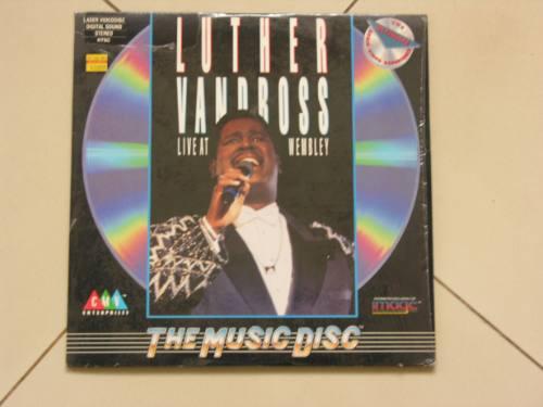 laser disc - luther vandross