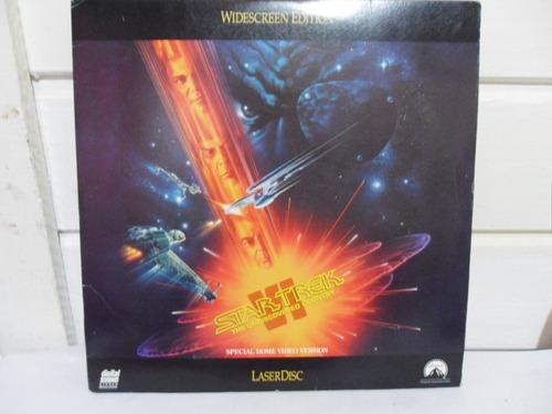 laser disc  star trek - jornada nas estrelas