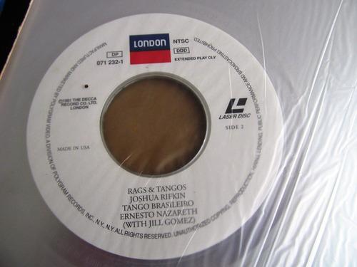 laser disc the joshua rifkin rags tangos ernesto nazareth