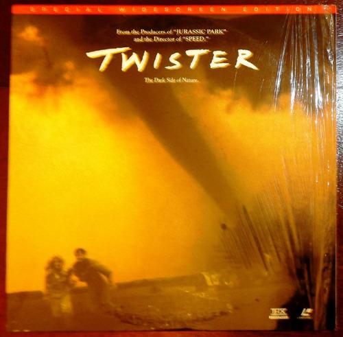 laser disc - twister  movie