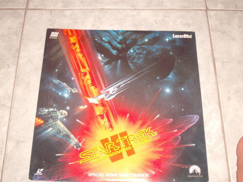 laser disk star trek