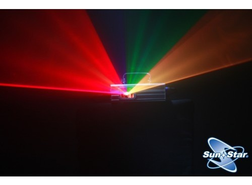 láser dj rgb sunstar dichroic 300mw graficador dmx audiorit