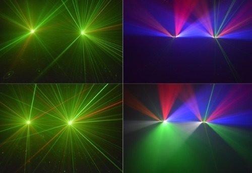 laser efecto luces