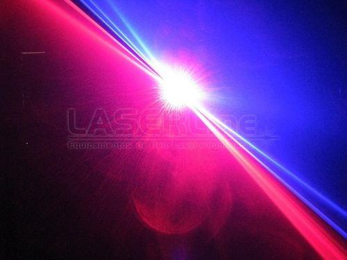 laser iris dj 3 cores rbp vermelho+azul+pink dmx 500mw