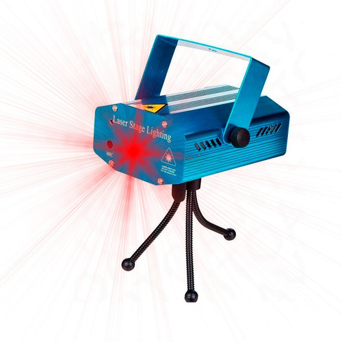 laser lluvia multipunto led rojo verde audioritmico dj