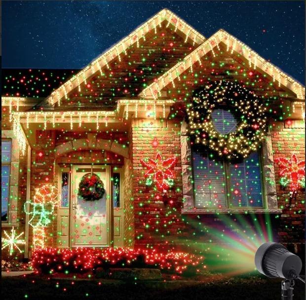 Laser Luz Natal Ilumina 231 227 O Decora 231 Ao Estrelas Projetor R