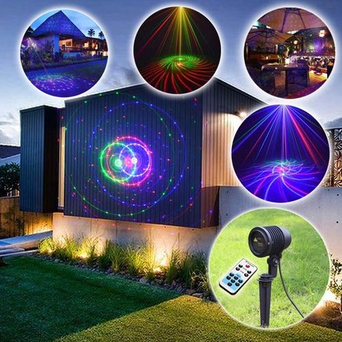 dbdc9e0bca4 Laser Navideño! Exterior - Miles De Luces Lluvia Laser -   1.999