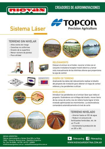 laser para nivelacion de precisión