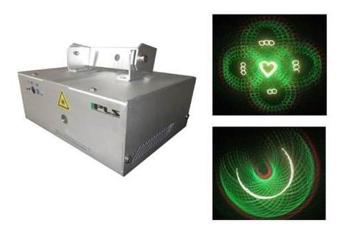 laser pls 1 - animaciones 3d - rojo y verde - 13 canales dmx