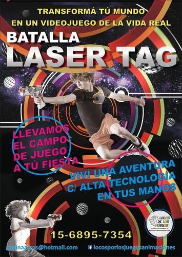 láser shot láser games tag animación para fiestas y eventos