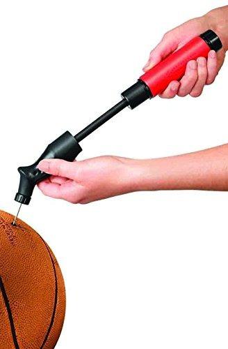 laser sports - bomba de bola de doble acción con inflado d