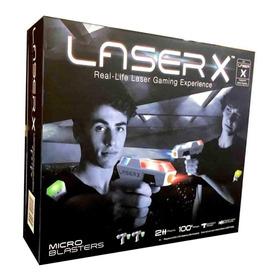 Laser Tag 2 Personas Laser X Pistolas Dobles Mini Pistolas