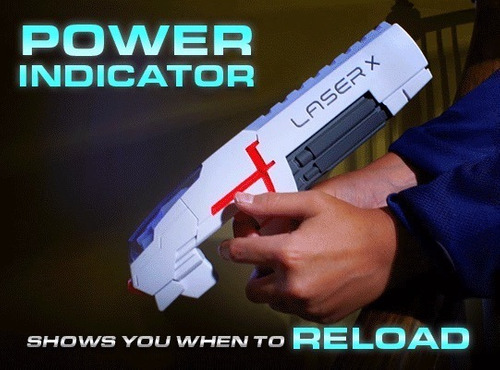 laser tag pistolas laser x juego laser xtreme c