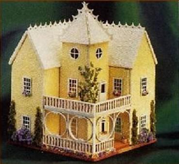 laser tech casa victoriana dollhouse escala 1 144th