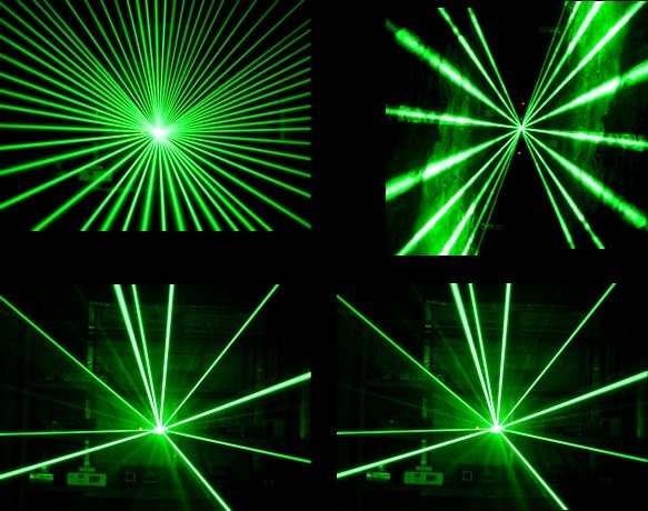 Laser Verde 60mw Stl 1060 Dmx Star