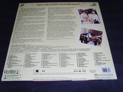 laserdisc - a passage to india