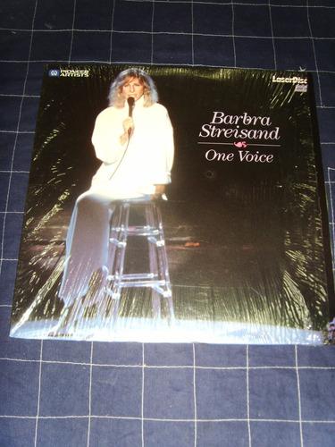 laserdisc - barbra streisand one voice