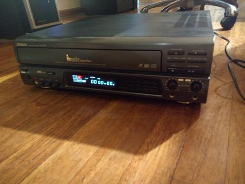 laserdisc reproductor aiwa (karaoke) (lectora a reparar)