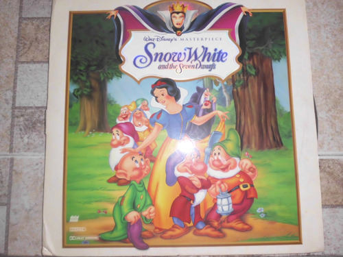 laserdiscs snow white and the seven dwarfs