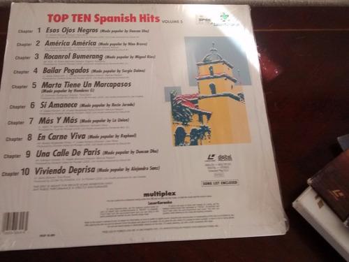 laserkaraoke - top ten spanish hist  (16