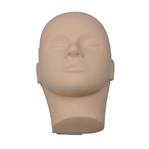 lashview caucho práctica entrenamiento cabeza maniquí cosmet