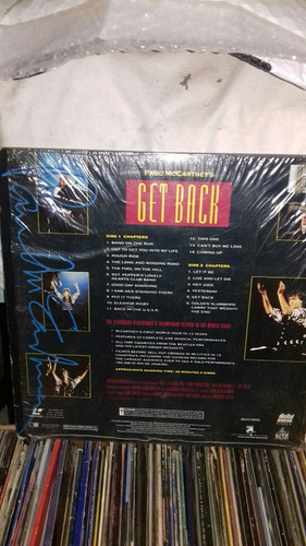 lasser disc paul mccartney get back