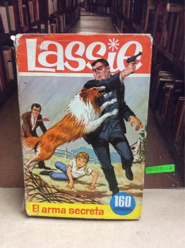 lassie. el arma secreta. novela ilustrada